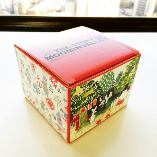 プレゼントの空き箱